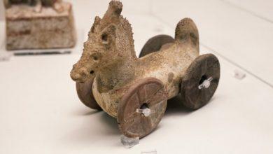 Με τι παιχνίδια έπαιζαν τα παιδιά στην αρχαιότητα;