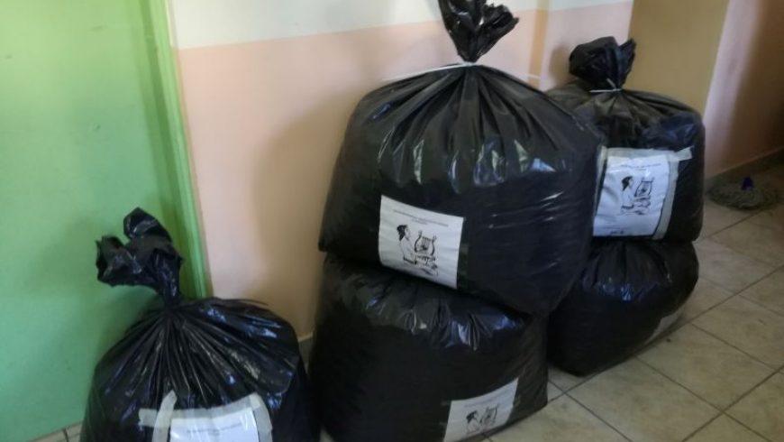 Παράδοση πλαστικών καπακιών στον σύλλογο «Αγάπη για ζωή» από τον Απόλλων Καρυάς