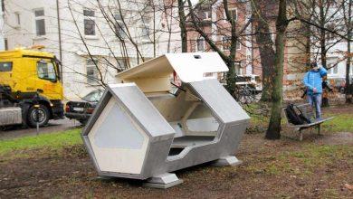 Η πόλη που σχεδίασε ειδικές κάψουλες ύπνου για τους άστεγους