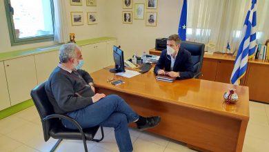 Συνάντηση του Αντιπεριφερειάρχη Λευκάδας με τον Πρόεδρο του Ιατρικού Συλλόγου Λευκάδας
