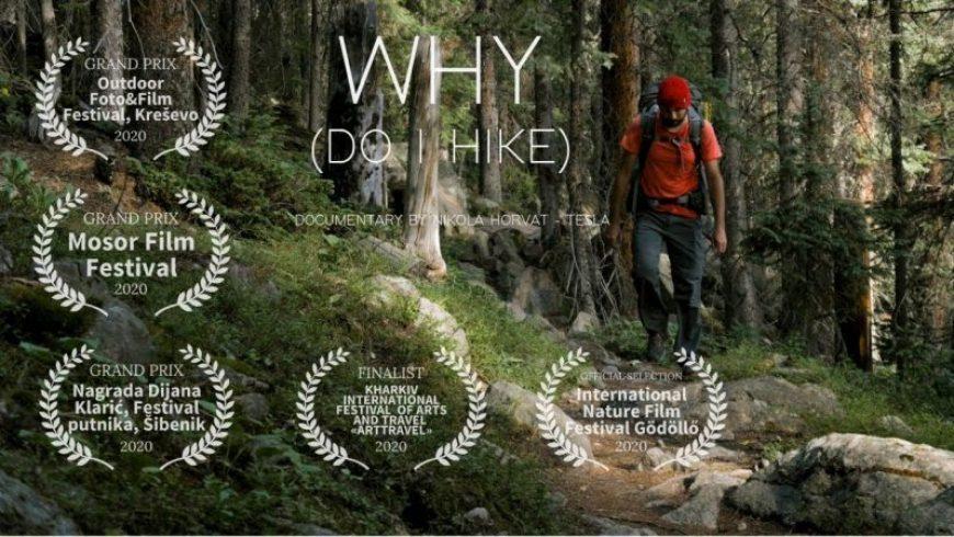 Why do I hike: Ένα πολυβραβευμένο ντοκιμαντέρ που αποκαλύπτει την ομορφιά της πεζοπορίας