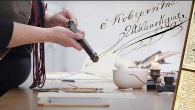 Τα εργαλεία γραφής του 1821: Πλάκα, κονδύλι, στυπόχαρτο, βουλοκέρι – Πώς έγραφαν τις επιστολές τους, σε ένα βίντεο
