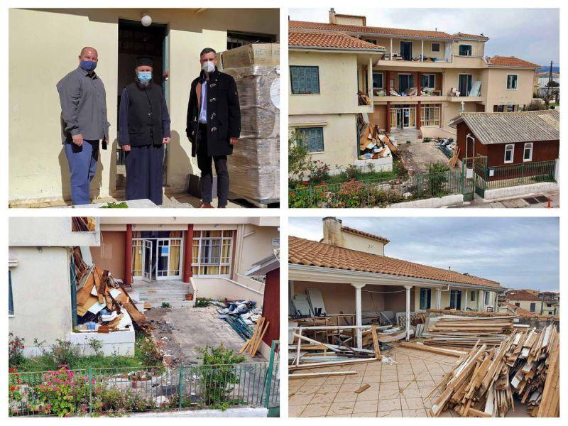 Π.Ε. Λευκάδας: Έναρξη εργασιών στο Γηροκομείο Λευκάδας