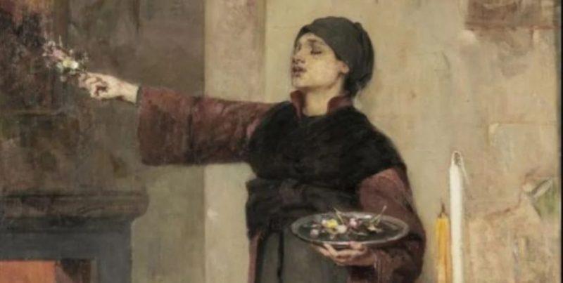Τα άνθη του Επιταφίου, το αυγό του Πάσχα – Οι αριστουργηματικοί πίνακες του Νικηφόρου Λύτρα από τον 19ο αιώνα και η ιστορία τους