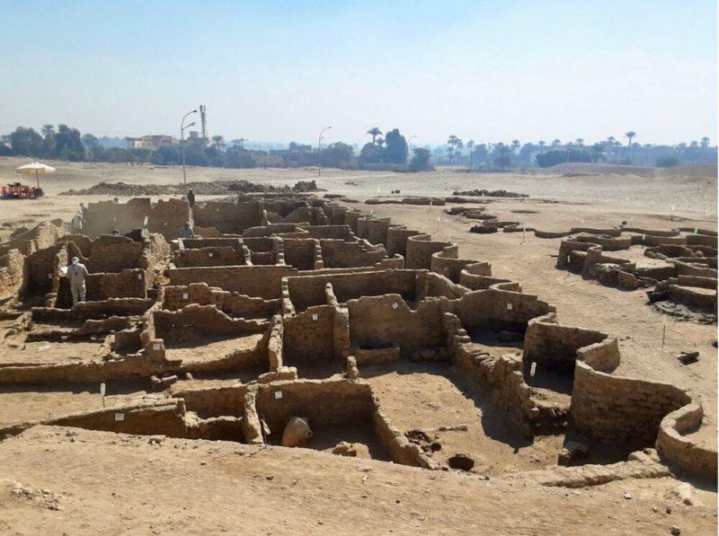Αίγυπτος: Στο φως η «αιγυπτιακή Πομπηία» – Η σημαντικότερη ανακάλυψη μετά τον τάφο του Τουταγχαμών