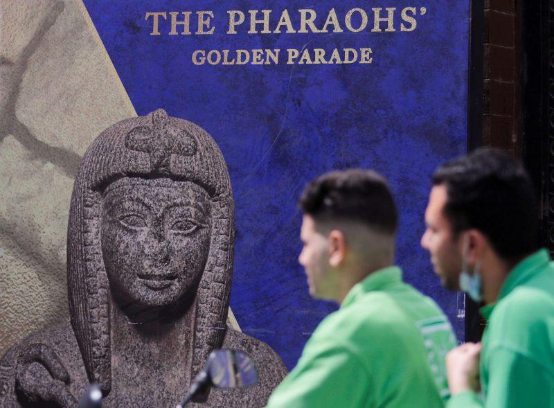 Μυθική πομπή για να μεταφερθούν μούμιες και σαρκοφάγοι στο Καΐρο