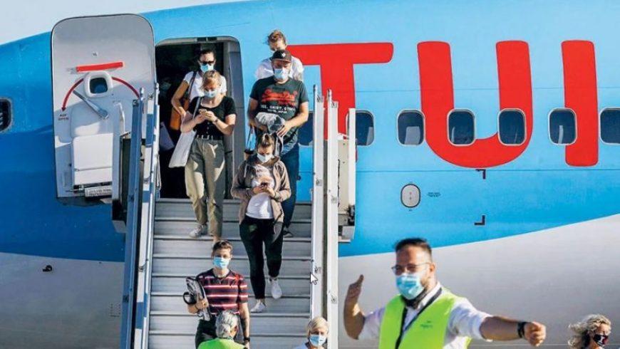 Τουρισμός: 122 πτήσεις προς Ελλάδα σε 15 ημέρες σχεδιάζει η TUI