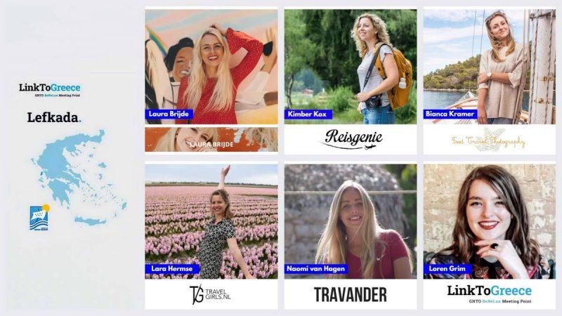 Ολλανδοί Influencers, Bloggers, Instagrammers και το κανάλι ARTE TV προσκεκλημένοι για την τουριστική προβολή της Λευκάδας
