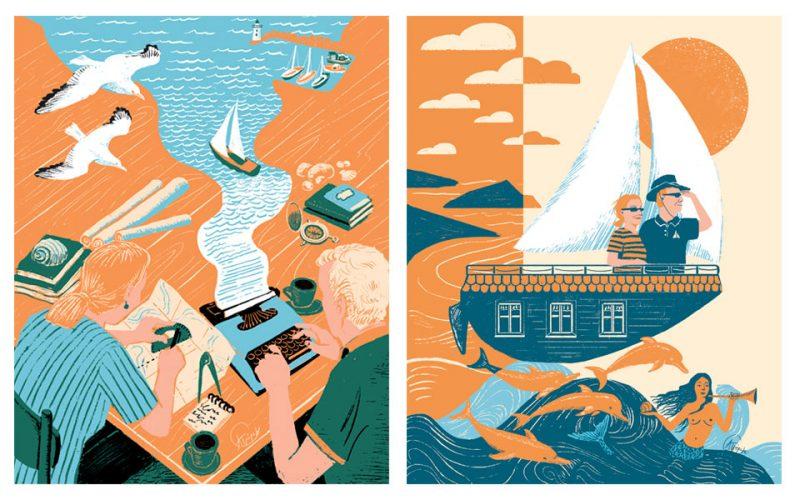 Κανείς δεν ξέρει τις ελληνικές θάλασσες όσο ο Ροντ & η Λουσίντα Χαϊκελ