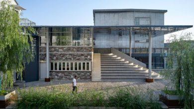 Μια βιβλιοθήκη στον «Δρόμο του νερού» καθρεφτίζει τη ζωή μιας πόλης
