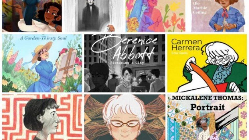 10 γυναίκες εικονογράφοι ρίχνουν φως σε 10 σπουδαίες γυναίκες καλλιτέχνες