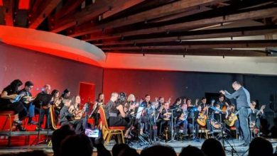 Συναυλία της μαντολινάτας του Ορφέα στο Κηποθέατρο Α. Σικελιανός