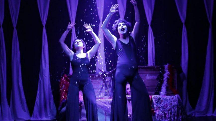 Η παράσταση «Θα γίνει του Αριστοφάνη» στο Κηποθέατρο Άγγελος Σικελιανός