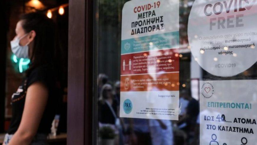 Νέα καθημερινότητα για τους ανεμβολίαστους από 13 Σεπτεμβρίου – Όλα τα μέτρα