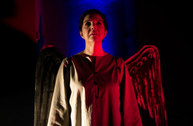 Η παράσταση «Η Γυναίκα της Ζάκυθος» του Δ. Σολωμού στο Κηποθέατρο Άγγελος Σικελιανός