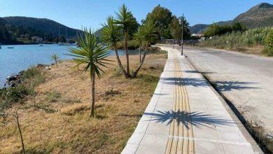 Δήμος Λευκάδας: Ολοκλήρωση Κατασκευής Πεζοδρομίων ΔΕ Ελλομένου
