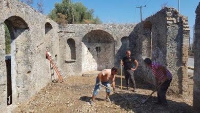 Δήμος Λευκάδας: Καθαρισμός & Ανάδειξη Ι.Ν. Υπεραγίας Θεοτόκου