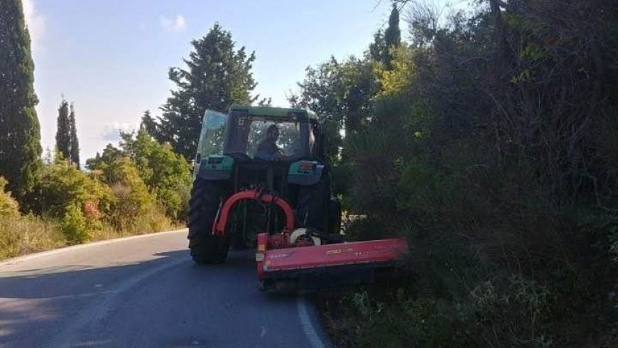Δήμος Λευκάδας: Αποψίλωση 880 χιλιομέτρων ανεπιθύμητης αυτοφυούς βλάστησης