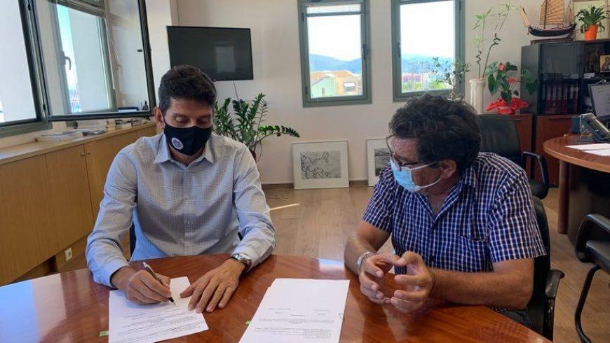 Δήμος Λευκάδας: Υπογράφηκε η σύμβαση για το έργο «Βελτίωση ασφάλειας οδικού τμήματος από θέση «Πόντη» προς τη θέση «Νηρά», Δ.Ε. Απολλωνίων»